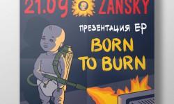 Born To Burn poster
