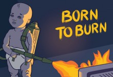 Born To Burn album artwork