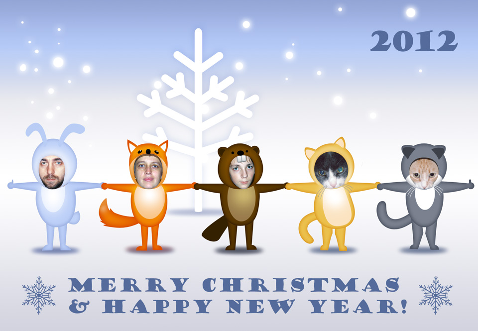 New Year Card 2012