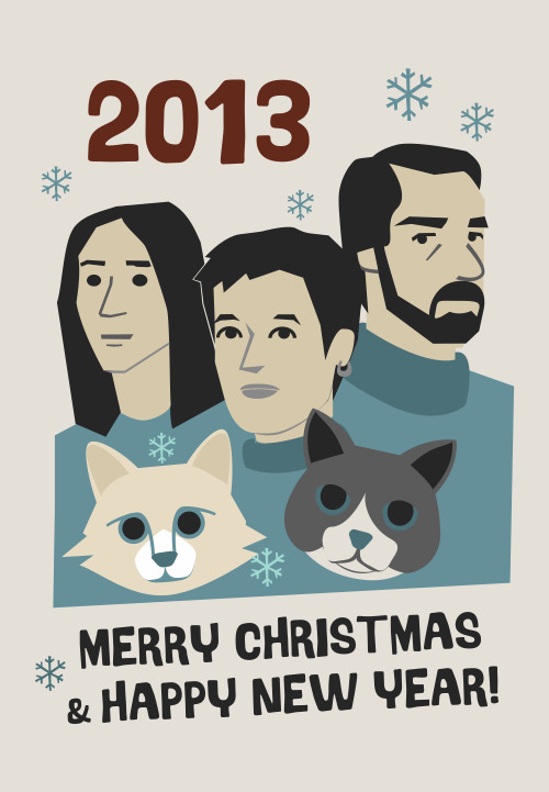 New Year Card 2013
