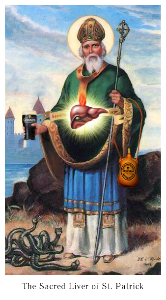The Sacred Liver of St. Patrick's